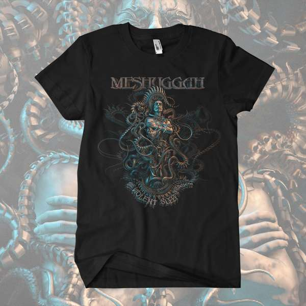 Meshuggah - 'The Violent Sleep of Reason' T-Shirt - Meshuggah