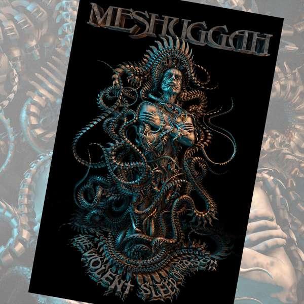Meshuggah - 'Violent Sleep of Reason' Textile Poster - Meshuggah