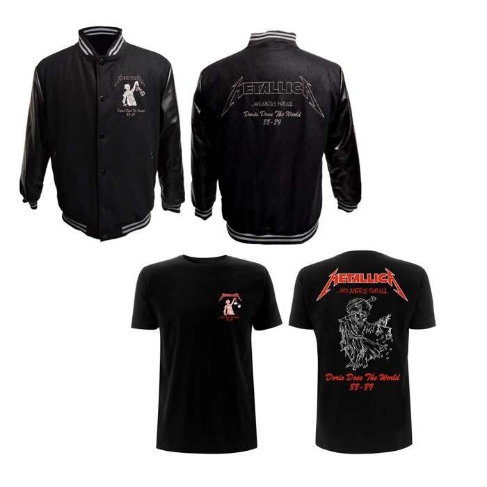 And Justice For All – Varsity Tour Jacket - Metallica