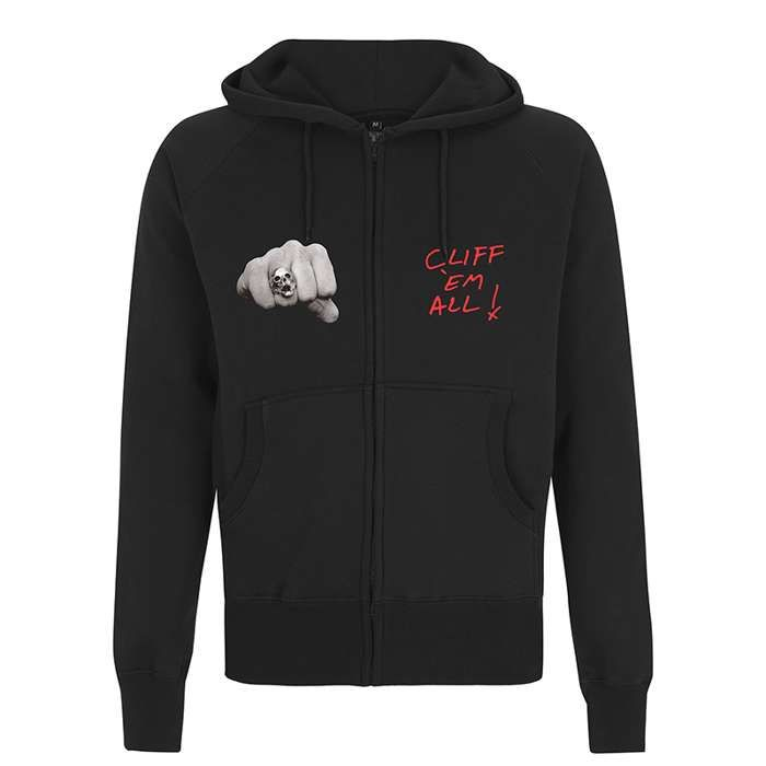 Cliff Burton - Cliff Fists – Zip Hood - Metallica