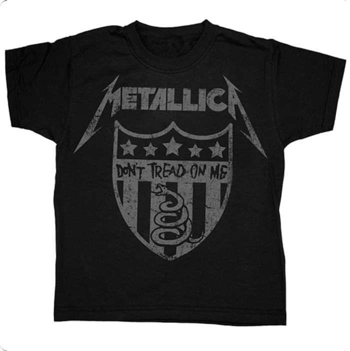 Don't Tread On Me - Black Tee - Metallica