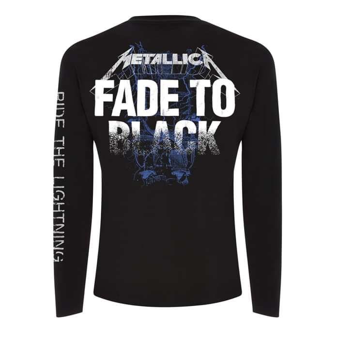 Fade to Black - Long Sleeve Tee - Metallica