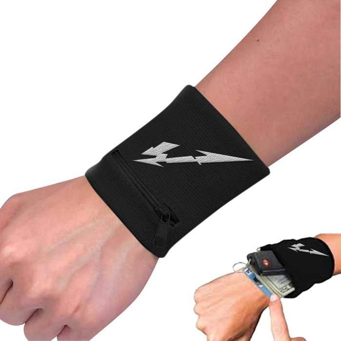 Glitch M Zip Wristband - Metallica