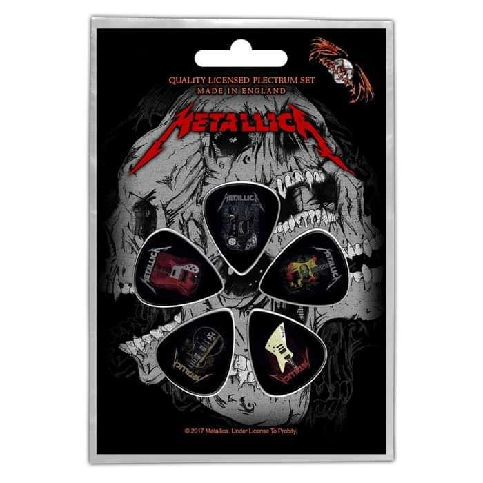 Guitars – Plectrum Pack - Metallica