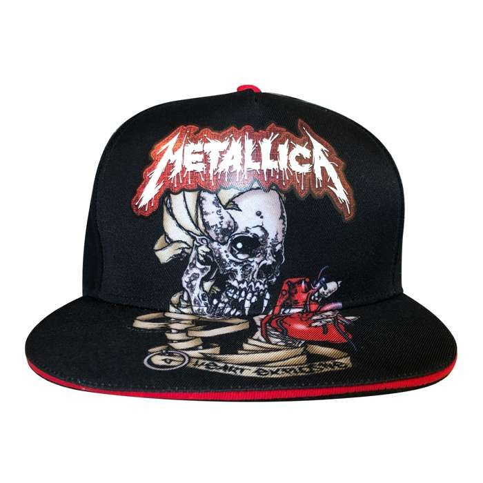 Heart Explosive – Snap Back Cap - Metallica
