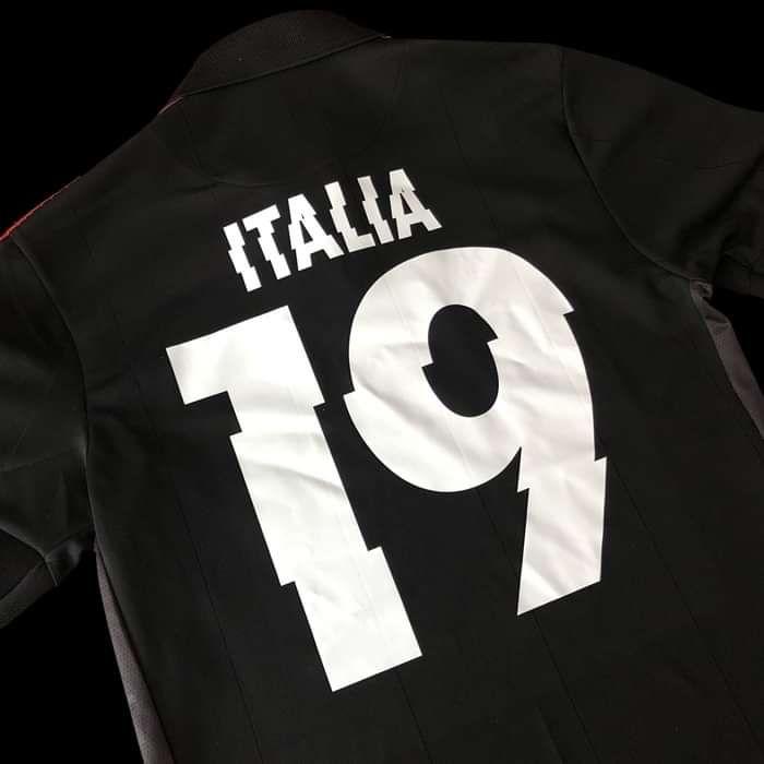 Italy – COPA Football Shirt - Metallica