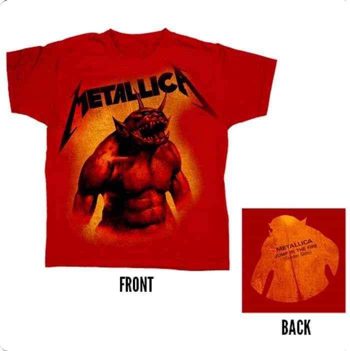 JITF - Red Kids Tee - Metallica