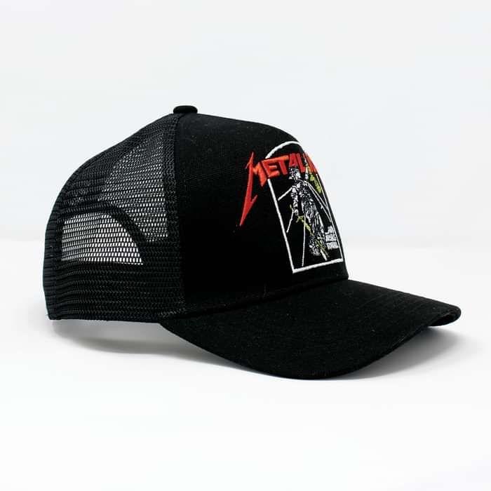 Justice – Mesh Back Trucker Cap - Metallica