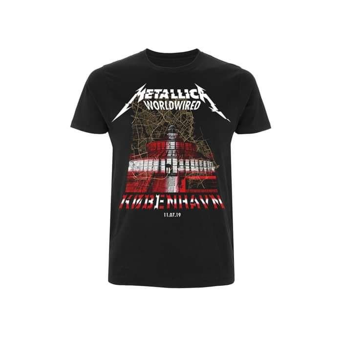 Kobenhavn Landmark Event – Tee - Metallica
