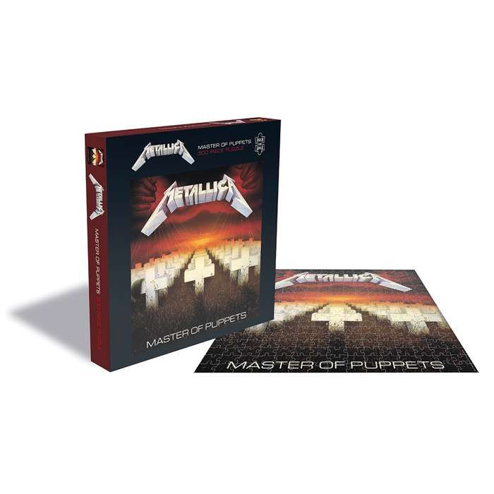 Master Of Puppets – 500 Piece Jigsaw - Metallica
