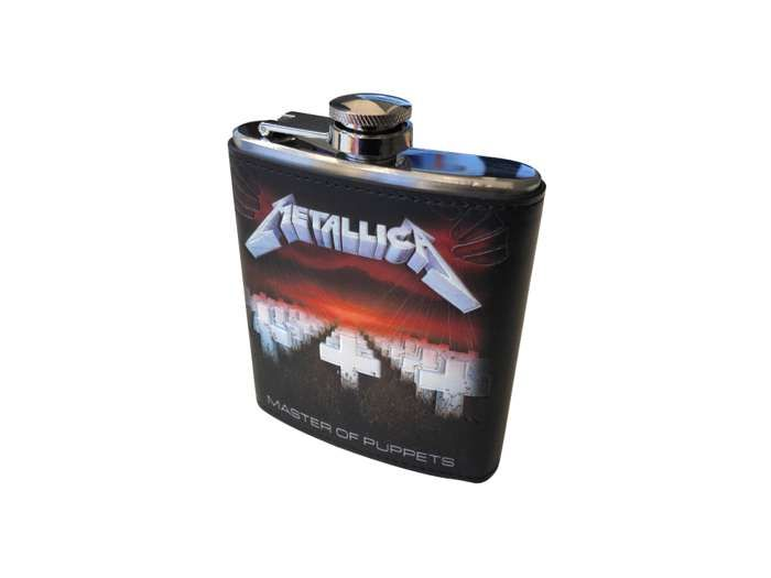 Master Of Puppets – 7oz Hip Flask - Metallica
