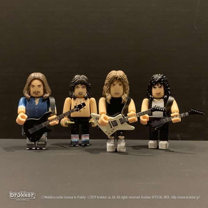Master Of Puppets – Brokker Collectible Figure Set - Metallica