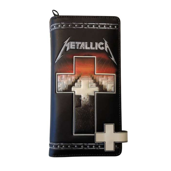 Master Of Puppets – Embossed Purse - Metallica