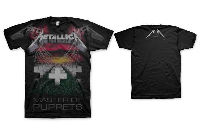 Master Of Puppets Faded - Tee - Metallica