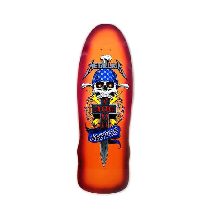 Metallica x Dogtown – LTD Edition Skateboard - Metallica