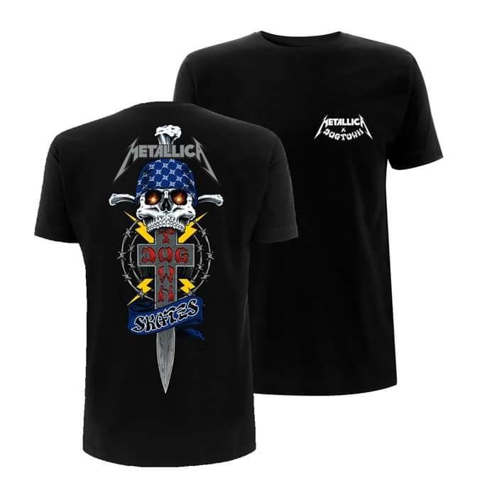 Metallica x Dogtown – LTD Edition T-Shirt - Metallica