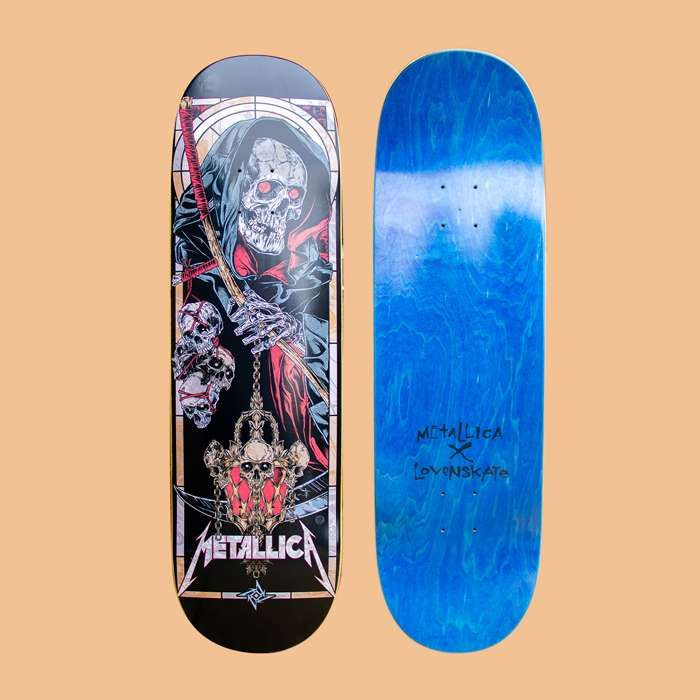 Metallica x Lovenskate - Death Reaper - Skateboard - Metallica