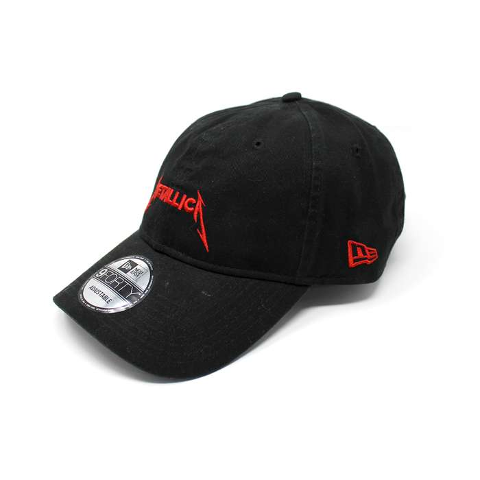 Metallica x New Era – Red Logo – Dad Cap - Metallica