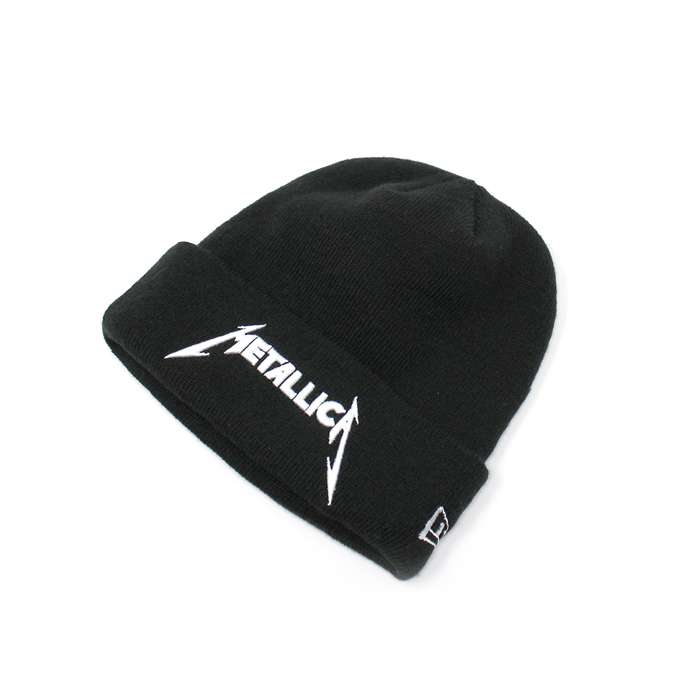 Metallica x New Era – White Logo – Beanie - Metallica