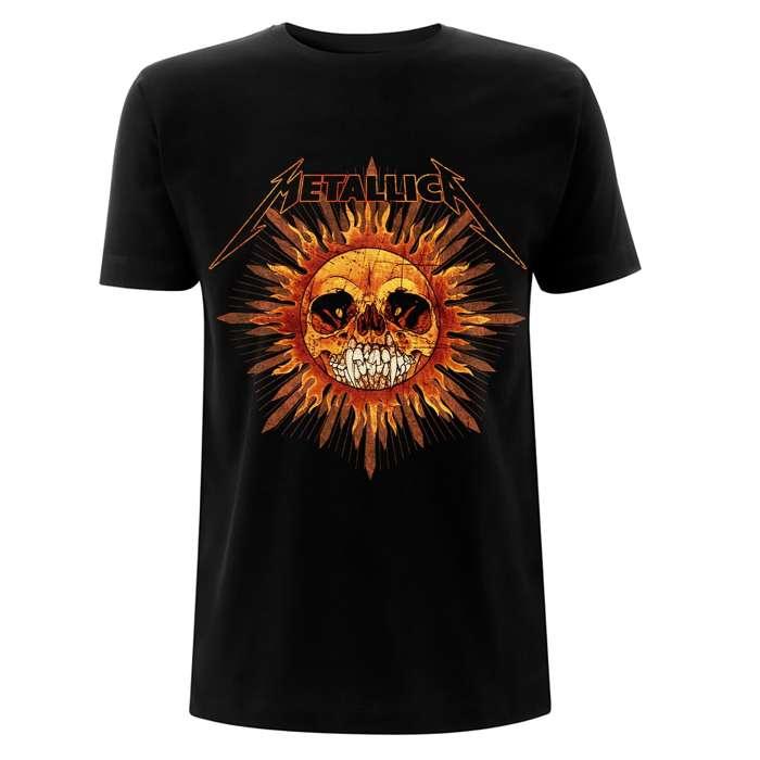 Pushead Sun - Black Tee - Metallica