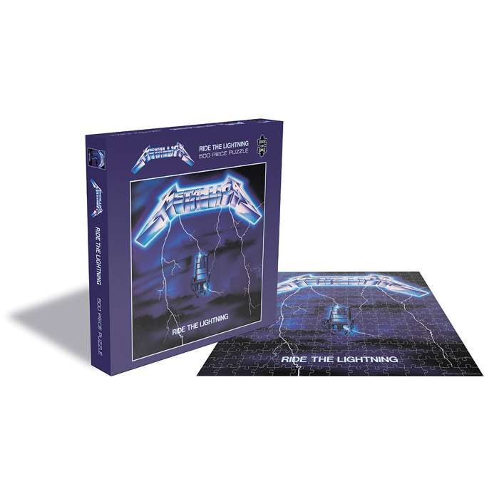 Ride The Lightning – 500 Piece Jigsaw - Metallica