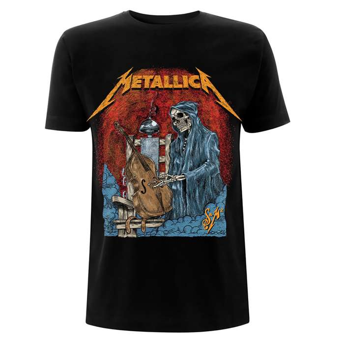 S&M2 Cello Reaper – Tee - Metallica