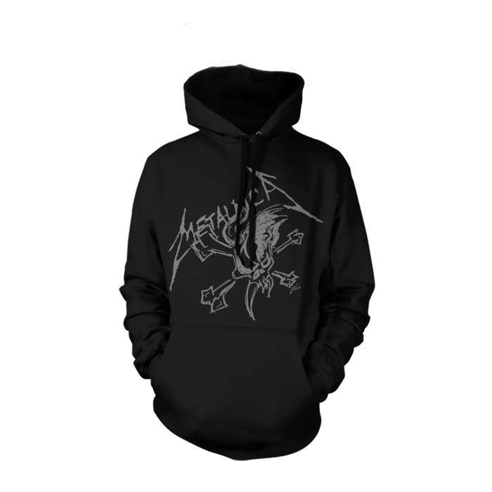Scary Sketch - Pullover Hood - Metallica