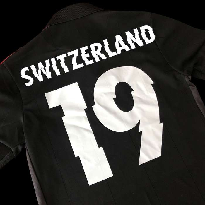 Switzerland – COPA Football Shirt - Metallica