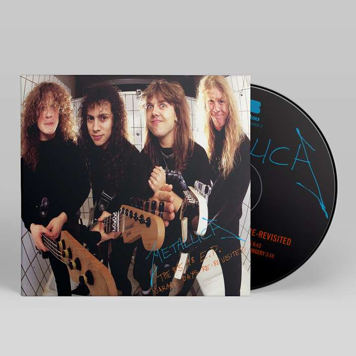 The $5.98 EP – Garage Days Re-Revisited (Remastered) – CD - Metallica