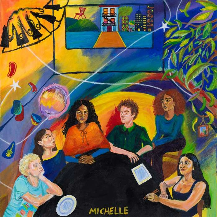 AFTER DINNER WE TALK DREAMS - Limited Blue LP - MICHELLE