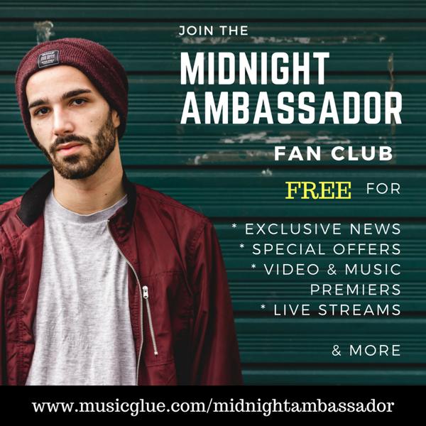 Midnight Ambassador Members Club + New Single - Midnight Ambassador