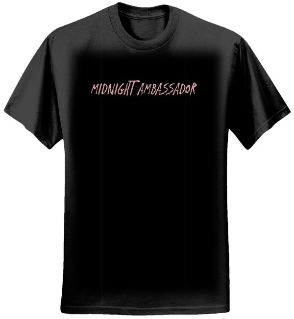 Midnight Ambassador Plain Logo Black Tee (Mens) - Midnight Ambassador