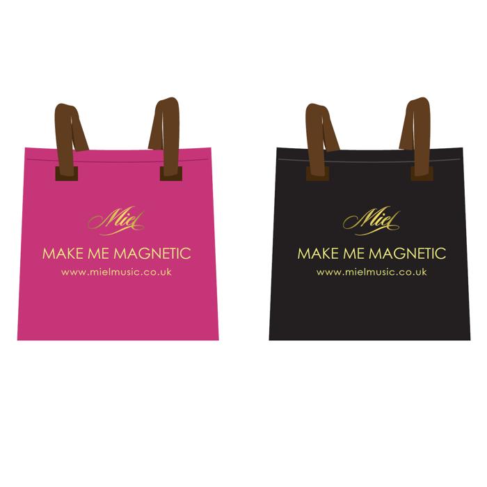 Beach Bag (Pink or Black) - Miel de Botton