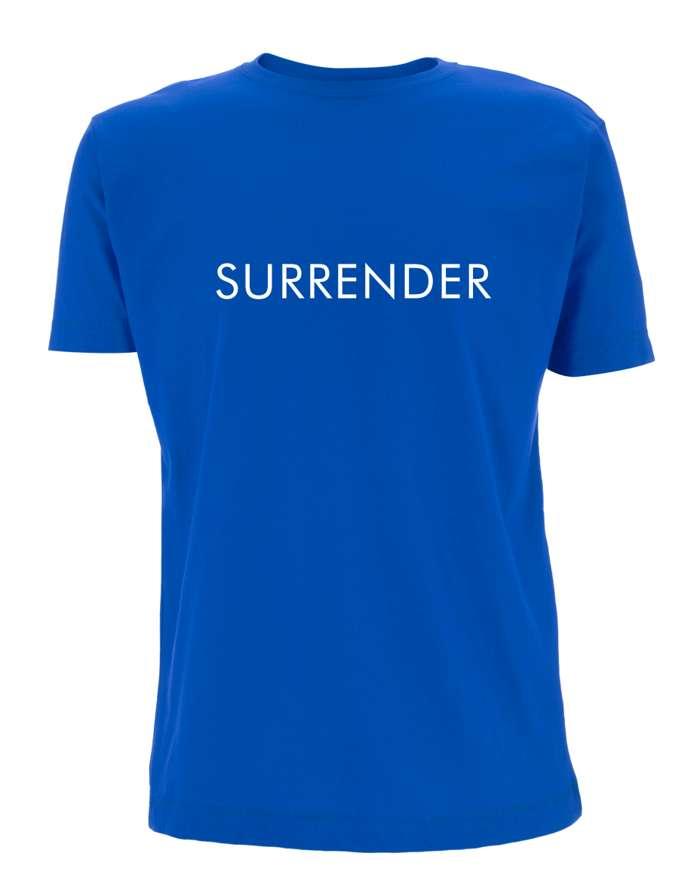 Surrender T-Shirt (Blue) - Miel de Botton