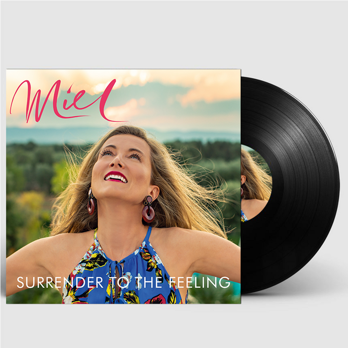 "Surrender to the Feeling (Signed 12"" Vinyl) - Miel de Botton"