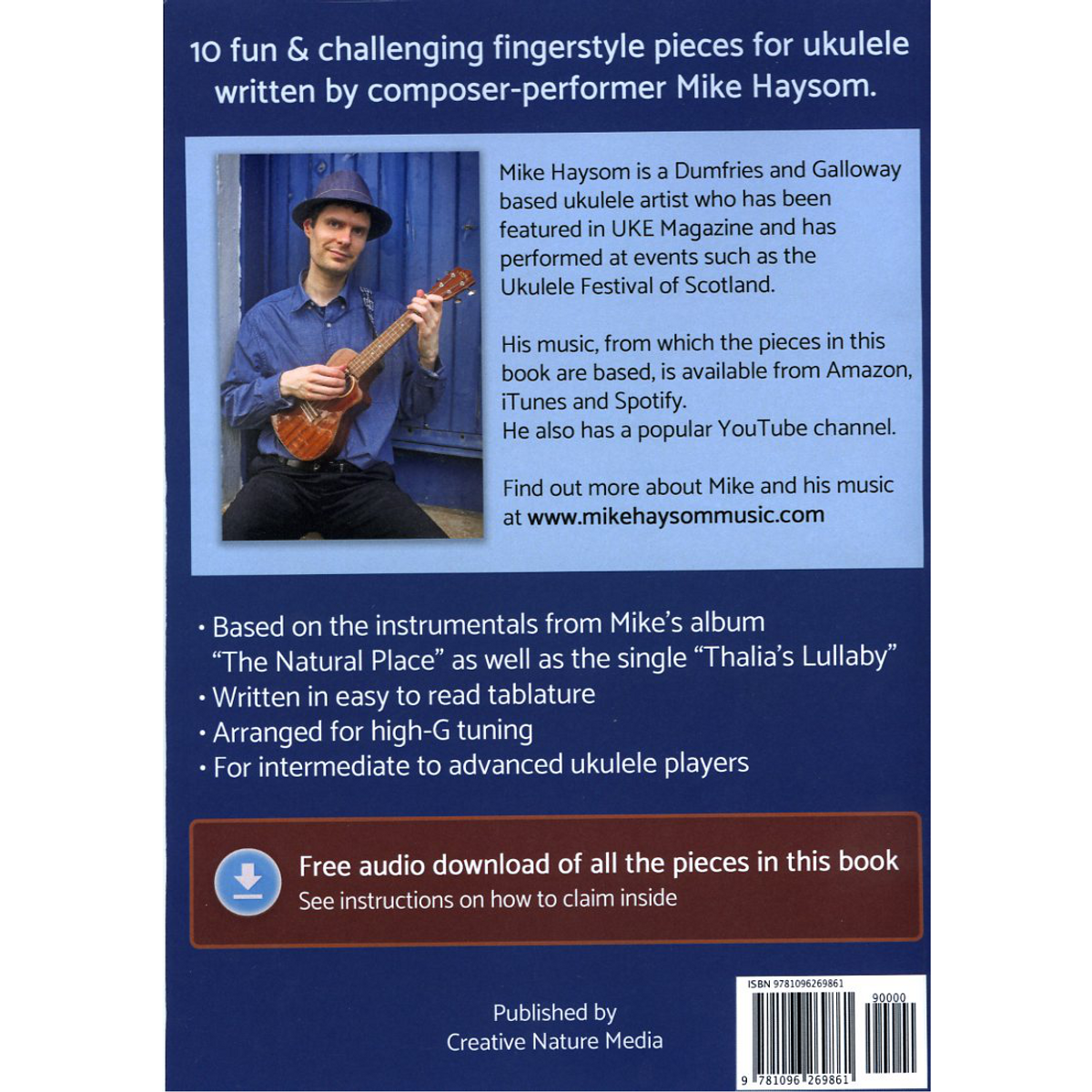 The Natural Pieces Book (Ukulele Tablature) + Free Audio Download!