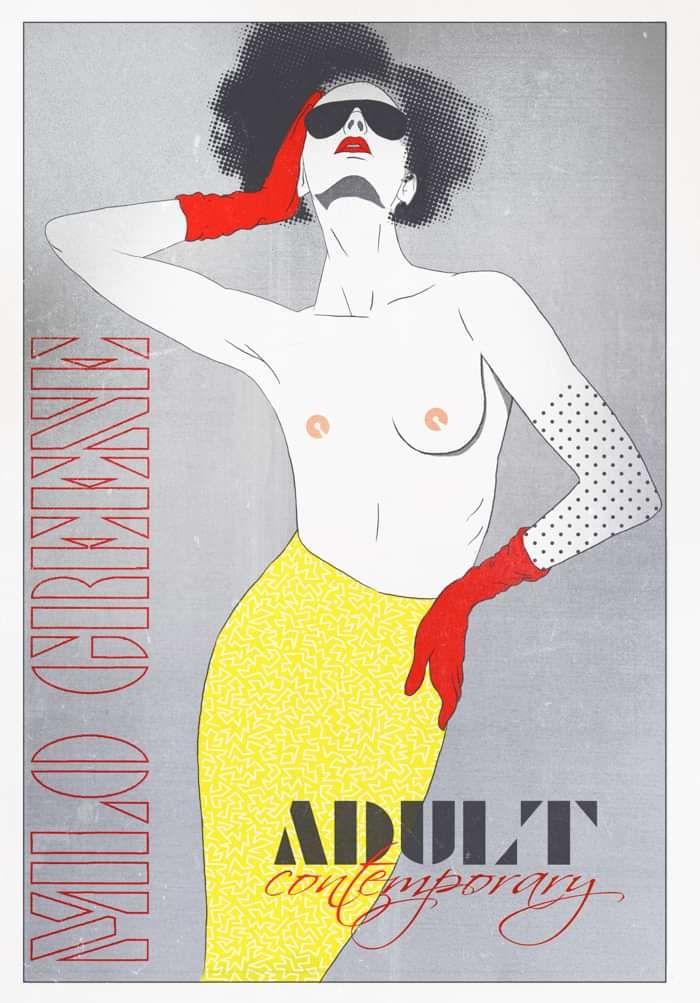 Milo Greene - Adult Contemporary Poster - Milo Greene