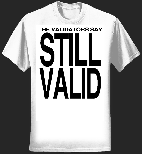 Still Valid T-Shirt (MEN) - MJ Hibbett