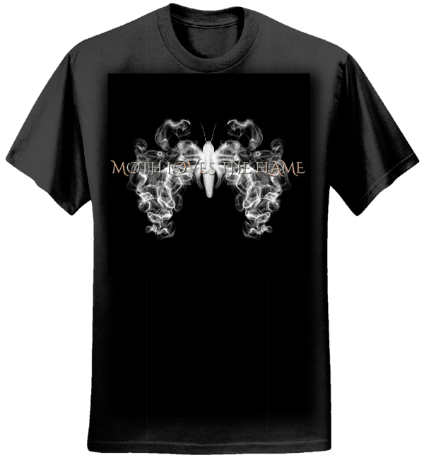 MLTF Logo Tee - Moth Loves The Flame