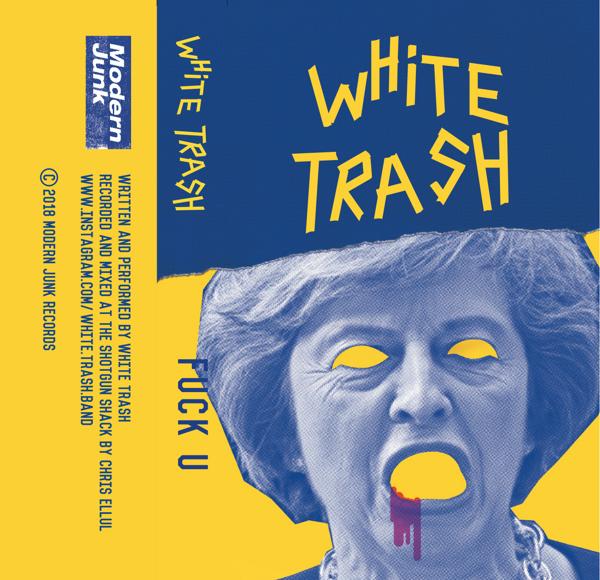 White Trash // Asbestos & The Bloody Gums - Split Single - Modern Junk Records