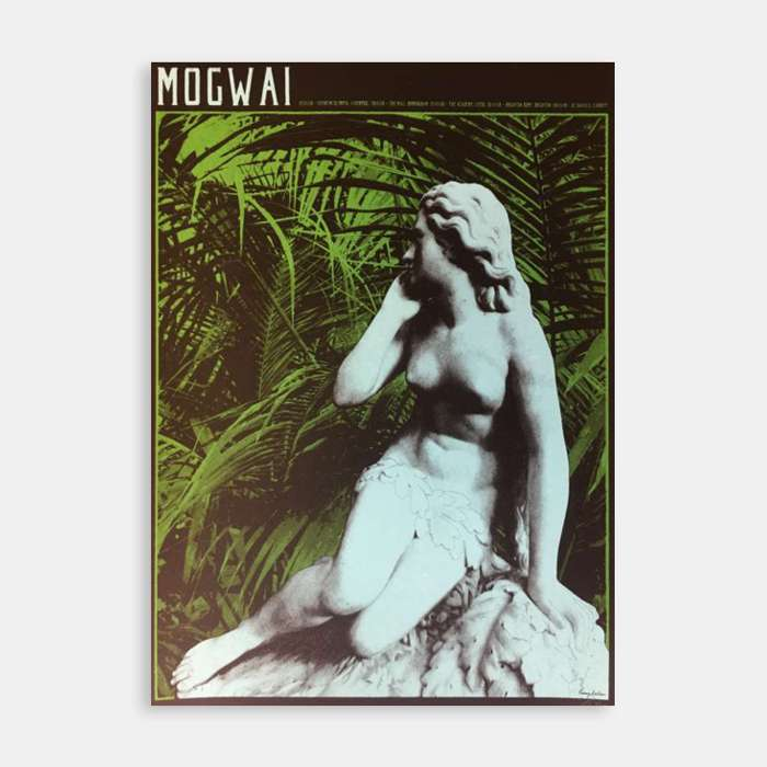 Mogwai November 2018 Black & Green Limited Edition Print - Mogwai