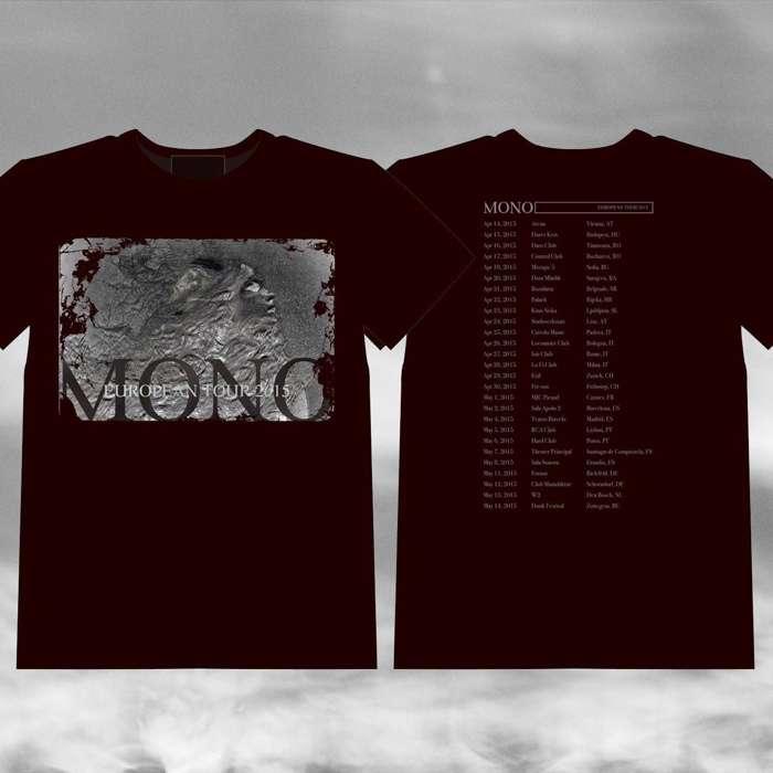 """MONO - '""""European Tour 2015"""" T-Shirt - MONO"""