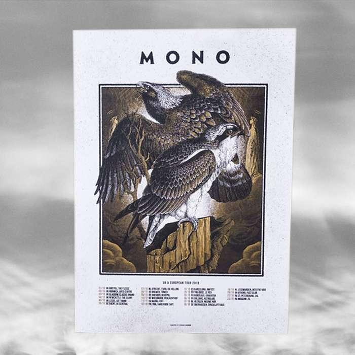 MONO - European Tour 2018 Poster - MONO