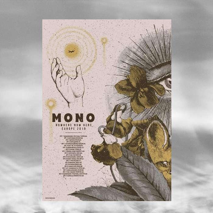 MONO - European Tour 2019 Poster - MONO