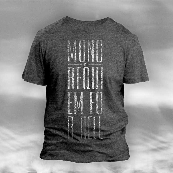 MONO - 'IX Requiem For Hell' Heather Grey T-Shirt - MONO