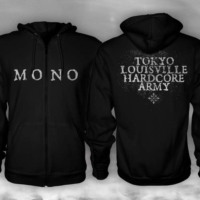 MONO - 'Tokyo Louisville Hardcore Army' Zip Hoodie - MONO