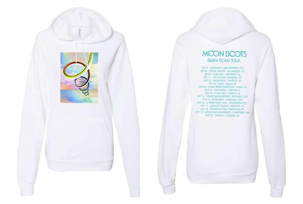 Bimini Road Tour Hoodie (1 left, size Medium!) - Moon Boots