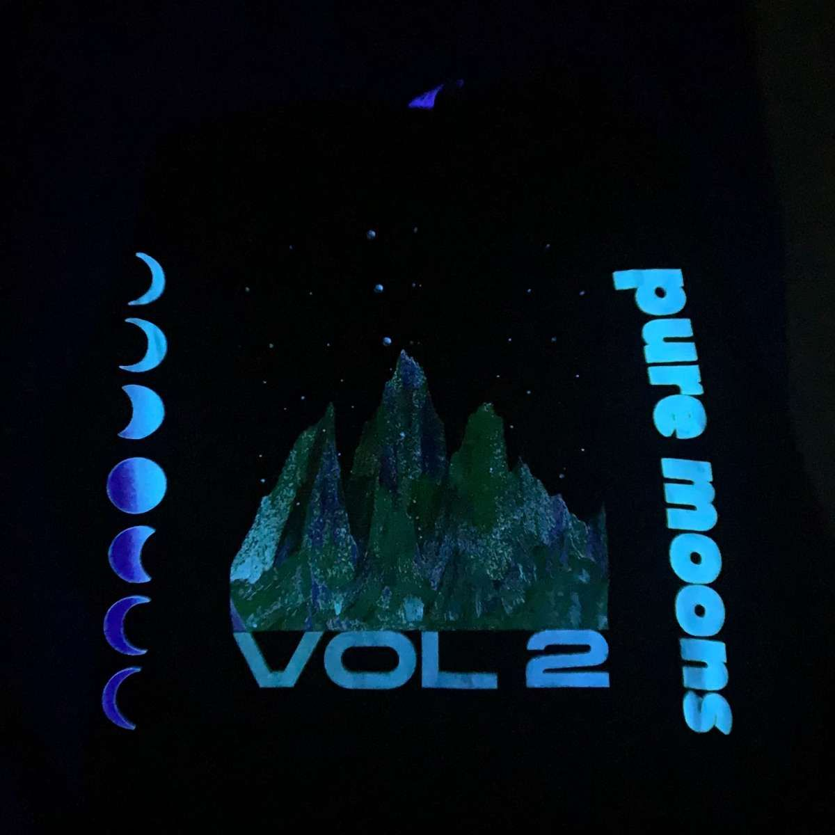 Pure Moons Vol. 2 *GLOW-IN-THE-DARK* Long Sleeve T-Shirt (Sold Out) - Moon Boots