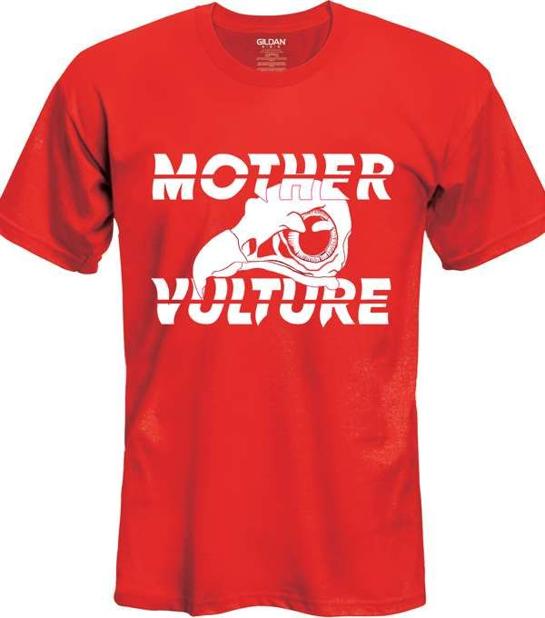 Red Logo T-Shirt - Mother Vulture