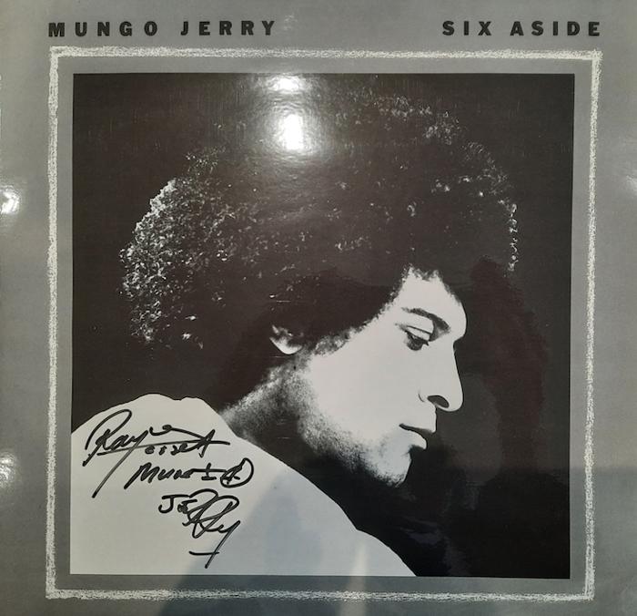 Signed Six Aside Vinyl LP - Mungo Jerry